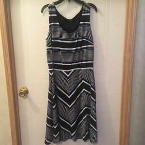 Nine West Striped Tank Dress
